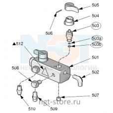 Обратный клапан (рециркуляция/распыление) Graco  (Грако)