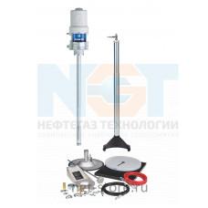 Комплект для смазки Fire-Ball 300 50:1 55 кг стационарный с индуктором Graco