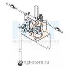 Комплект Husky 1050 для перекачки стеклоомывателя и антифриза двойной впуск Graco