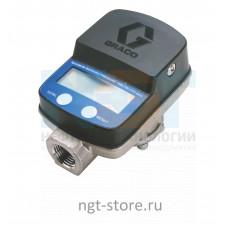 Линейный расходомер SDI15 для среднего/высокого давления и расхода Graco