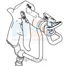 Пистолет-распылтель SG3, RAC IV для окрасочного аппарата GRACO GX 21