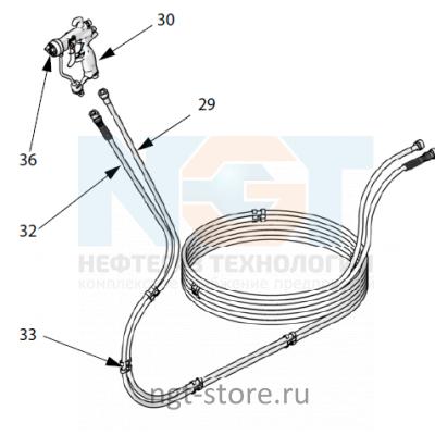 Окрасочный шланг Mini Merkur ES 7,6м CS Graco Грако