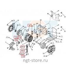 Ремкомплект воздушного клапана Graco Husky 205