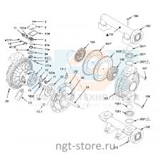 Ремкомплект жидкостной части Husky 1590 BN BN BN