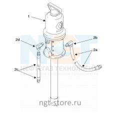 Комплект для масла FIRE-BALL 225 3:1 универсальный Graco