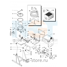 Детали и запасные части Di60AX Formeco