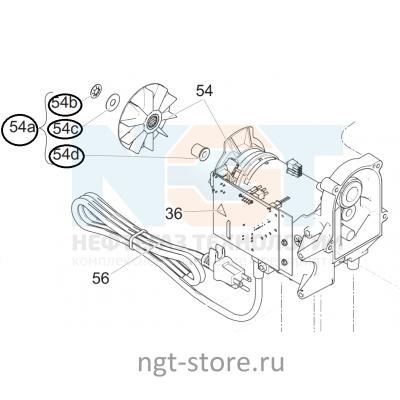 Вентилятор для мотора от GRACO 190 CLASSIC PC,STAND Hi-Boy Грако