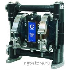 Пневматический насос Graco Husky 307 AC,PP,HY,HY,(BSP)