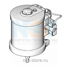 Пневмодвигатель для MERKUR 36:1 7.5IN SMT Graco