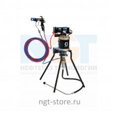 Mini Merkur ES 30:1 окрасочный аппарат стойка, нерж. сталь Graco