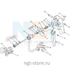Ремкомплект к Текстурный пистолет-распылитель HD Blue Texture GUN Graco (Грако)