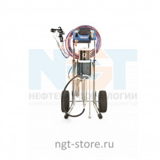 Merkur 15:1 окрасочный аппарат на тележке G15 DP Graco