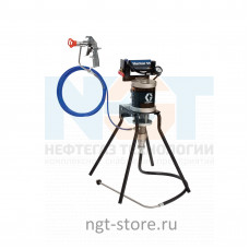 Mini Merkur ES 30:1 окрасочный аппарат стойка, пл. сталь, бвр Graco