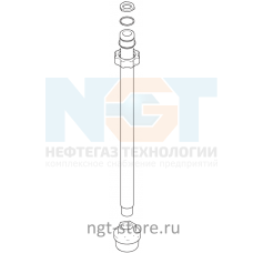 Всасывающий, заборная труба для GRACO ST MAX II 495 PC,HI-BOY