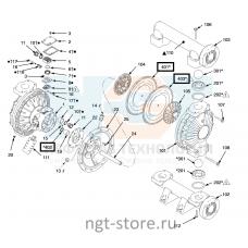 Ремкомплект диафрагма Husky 1590 SP