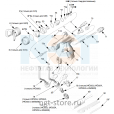 Ремкомплект уплотнение G40 для MERKUR 48:1 Graco