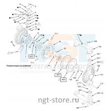 Ремкомплект диафрагма Husky 1590 BN