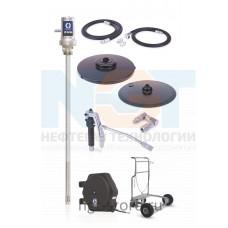 Комплект для смазки LD 50:1 мобильный бочка 180 кг с катушкой Graco