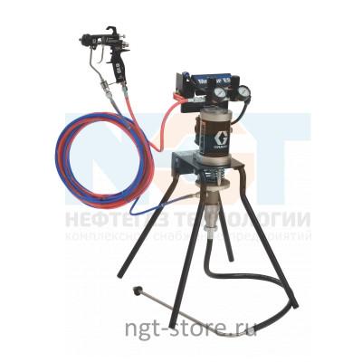 Mini Merkur ES 15:1 окрасочный аппарат стойка, пл. сталь Graco Грако