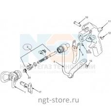Ремкомплект к пистолет-распылитель Silver Plus GUN, Flex Plus GUN Graco (Грако)