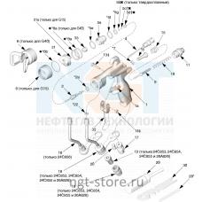 Ремкомплект уплотнение G40 для MERKUR 18:1 Graco